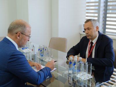 Роман Троценко подтвердил планы и сроки строительства нового терминала аэропорта Толмачёво