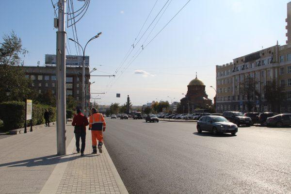 На Красном проспекте Новосибирска появится плитка с «противоскользящим» напылением