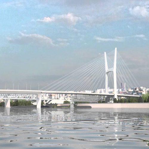 строительство четвертого моста в Новосибирске