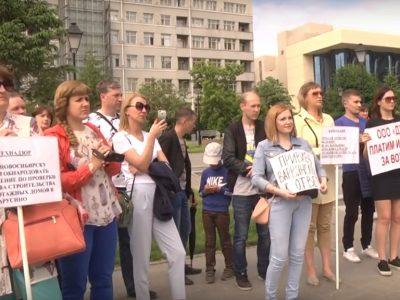 В долгостроях Новосибирска «зависли» интересы 8 тысяч человек