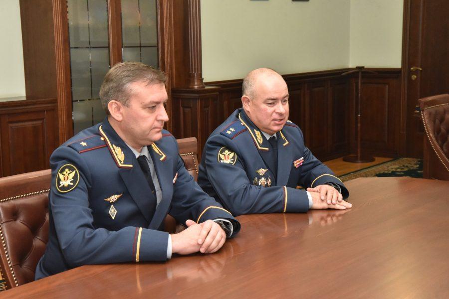 Новый начальник ГУФСИН по Новосибирской области Андрей Попето представлен губернатору