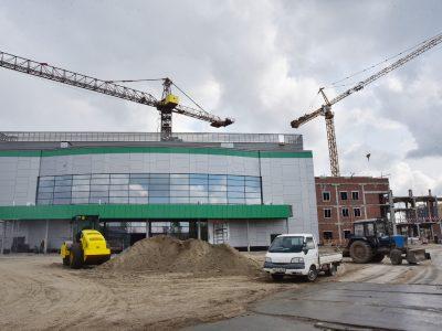 На строительство волейбольного центра могут дополнительно направить более 500 млн рублей