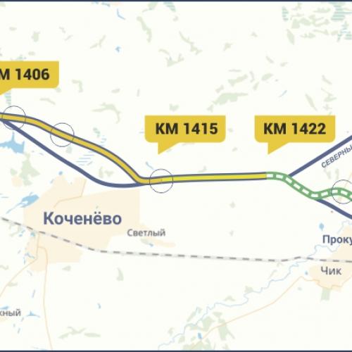 Начата работа над проектом реконструкции дороги «Иртыш» на подъезде к аэропорту «Толмачёво»