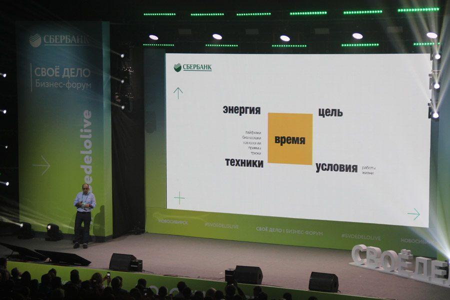 Форум Сбербанка «Свое дело» впервые прошел в Новосибирске