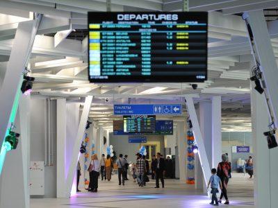 Аэрофлот прекратил обслуживание пассажиров в бизнес-зале аэропорта Новосибирска