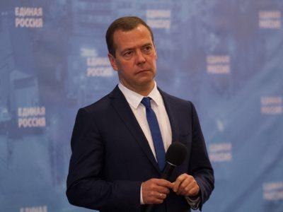 В Новосибирск с рабочим визитом прибыл Дмитрий Медведев