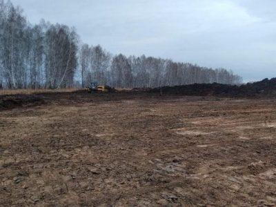 «Новосибирскавтодор» приступил к строительству автодороги в обход села Сарапулка