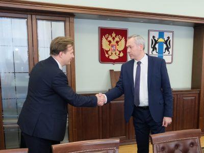 Губернатор области обсудил с руководством «Росбанка» реализацию нацпроектов