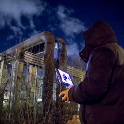 Энергетики вышли на ночное обследование теплосетей Новосибирска
