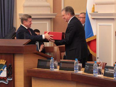 В бюджет Новосибирска заложили рост собственных доходов
