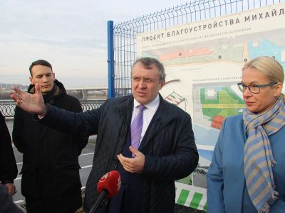 ГК «Сибмонтажспецстрой» профинансирует третью очередь набережной