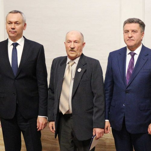 Работник АО «РЭС» удостоен почетного звания «Заслуженный работник энергетики Новосибирской области»