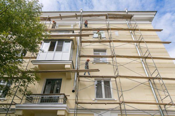 В 2019 году в регионе отремонтировано 626 многоквартирных домов