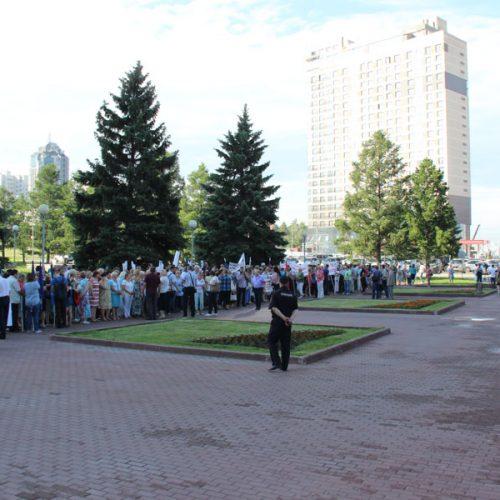 Новосибирцам разрешат митинговать рядом с органами госвласти