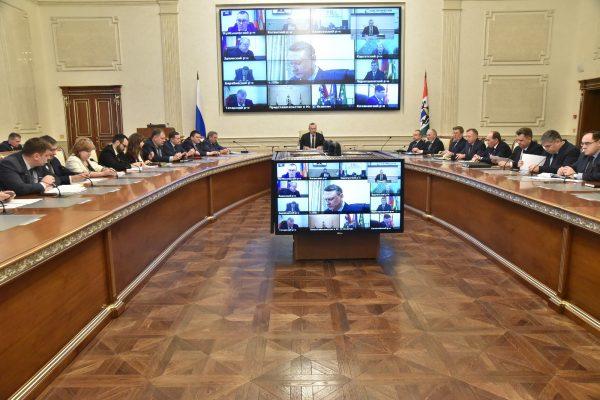 Губернатор поручил заключить все контракты по нацпроектам до конца февраля