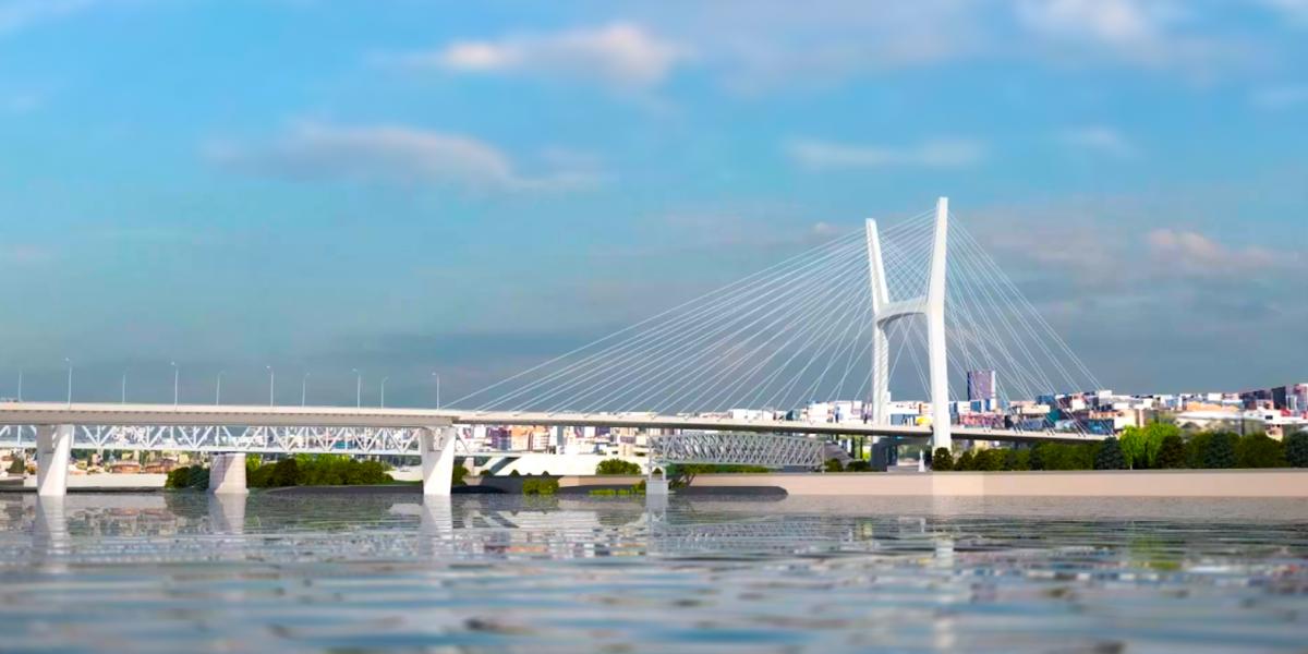 До конца декабря работы по четвертому мосту будут выполнены на 20%