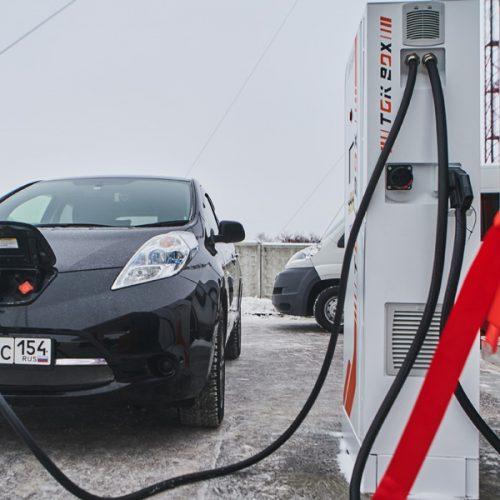 В Искитиме появилась зарядная станция для электромобилей