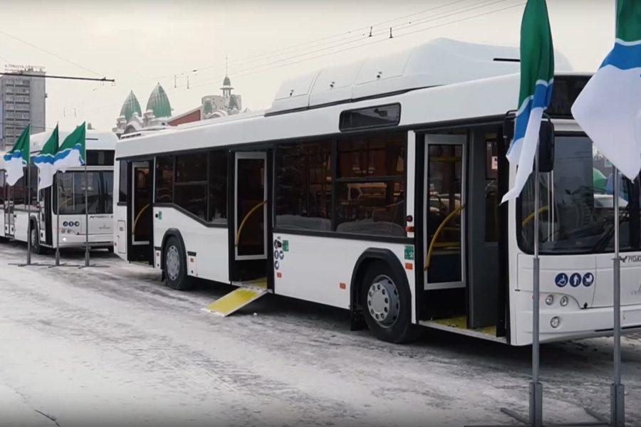 В Новосибирск прибыли все заказанные по лизингу минские автобусы