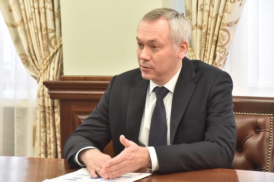Андрей Травников на последнем месте в рейтинге активности губернаторов в Instagram