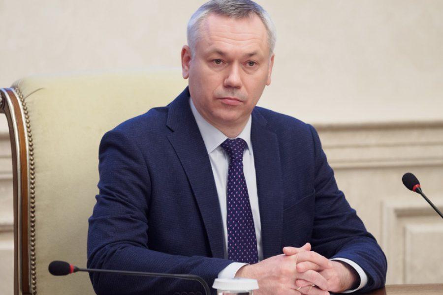 Андрей Травников поднялся в рейтинге популярности губернаторов в соцсетях