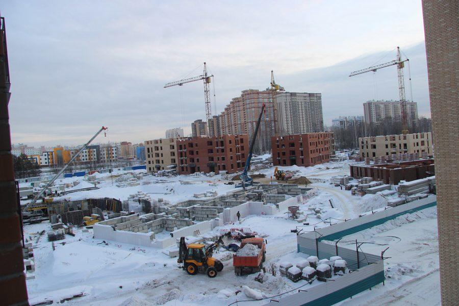 Названы застройщики, лидирующие по объему текущего строительства в Новосибирске