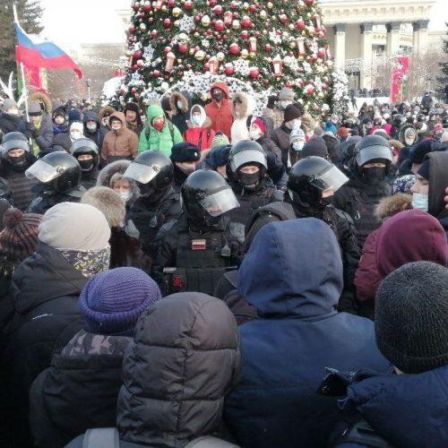 Итоги протестных выходных в Новосибирске