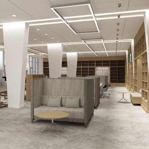 В ГПНТБ создадут новый современный читальный зал