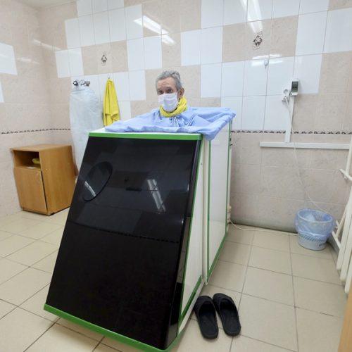 В стационаре больницы №19 начали проводить реабилитацию пациентов после коронавируса