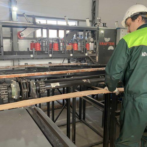 Сузунский лесхоз запустил новую линию по переработке древесины за 22 млн рублей