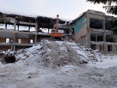 В Новосибирске началась реконструкция бассейна СКА