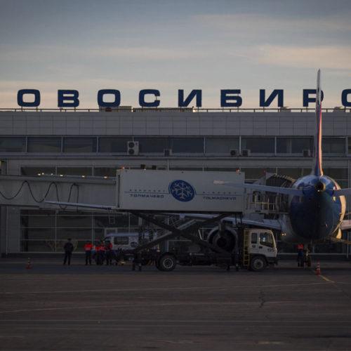 В январе аэропорт Толмачёво обслужил почти 399 тысяч пассажиров