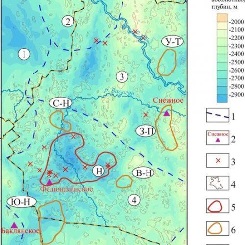 Сибирские ученые выполнили прогноз нефтеносности баженовского резервуара