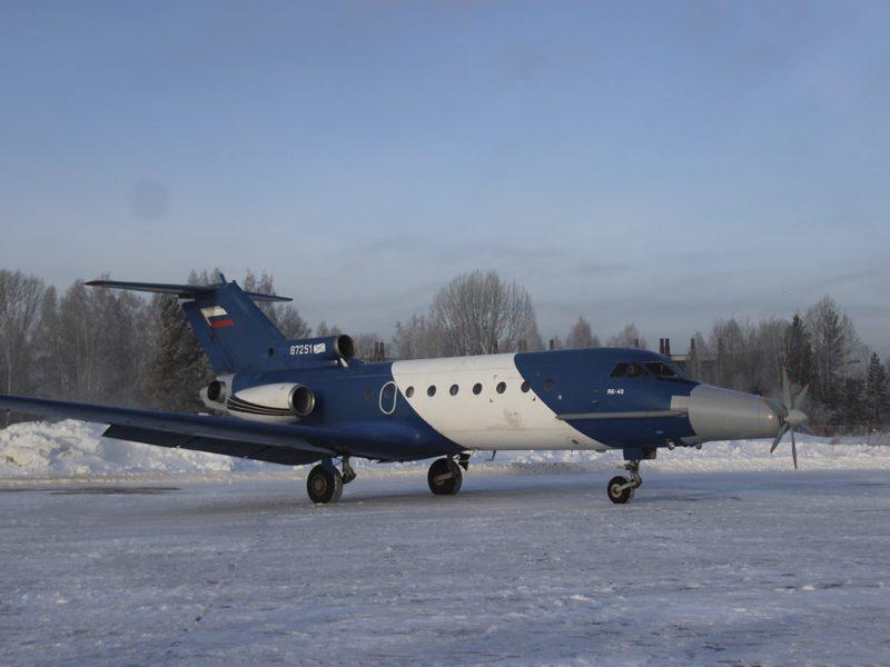 В Новосибирске начались наземные испытания электродвигателя для авиации
