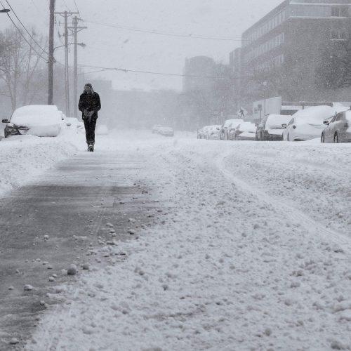 Синоптики прогнозируют метели, ветер и гололед в Новосибирске