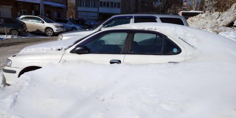 43% новосибирцев выступают за вывоз брошенных автомобилей на штрафстоянки