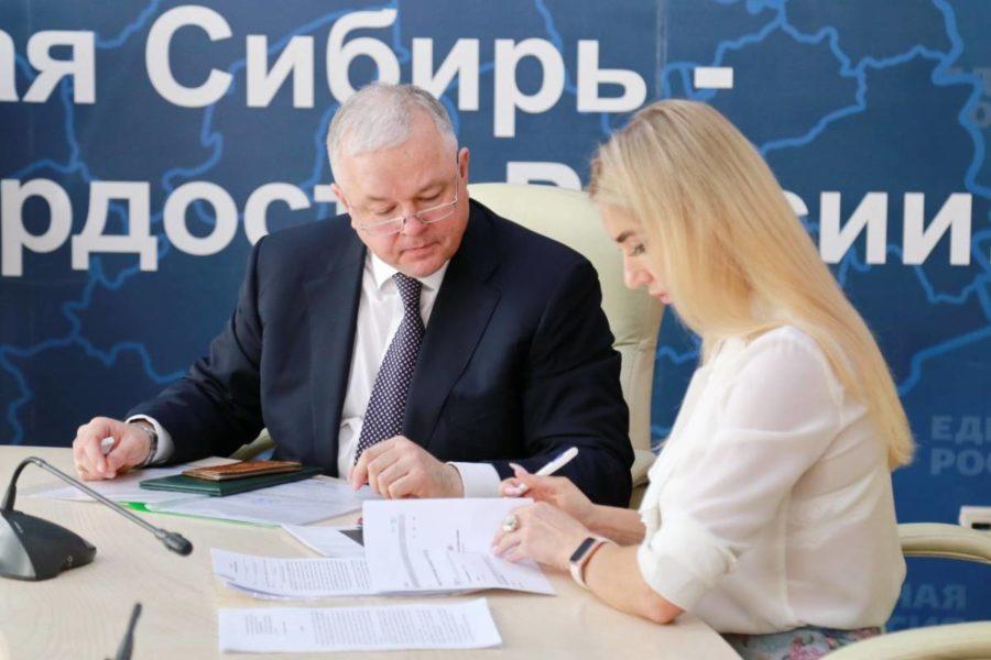 Первые официально заявившиеся в Госдуму от Новосибирской области