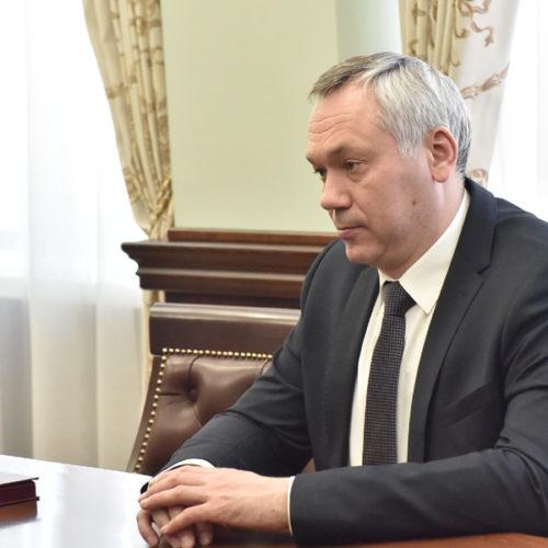 Андрея Травникова в феврале чаще упоминали в соцсетях