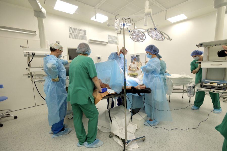В областном перинатальном центре проведены 7 операций фетальной хирургии