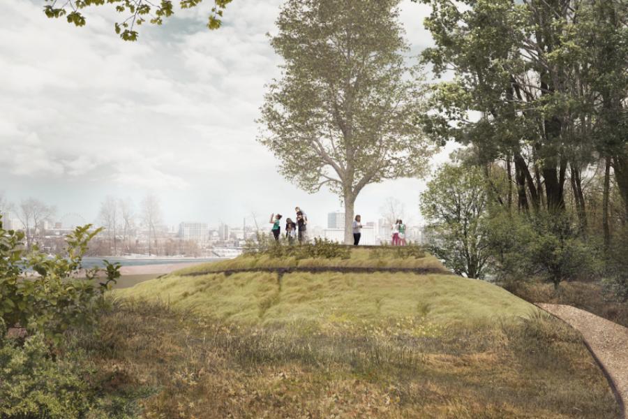 Ориентиром для парка около ЛДС будут московские «Сокольники»