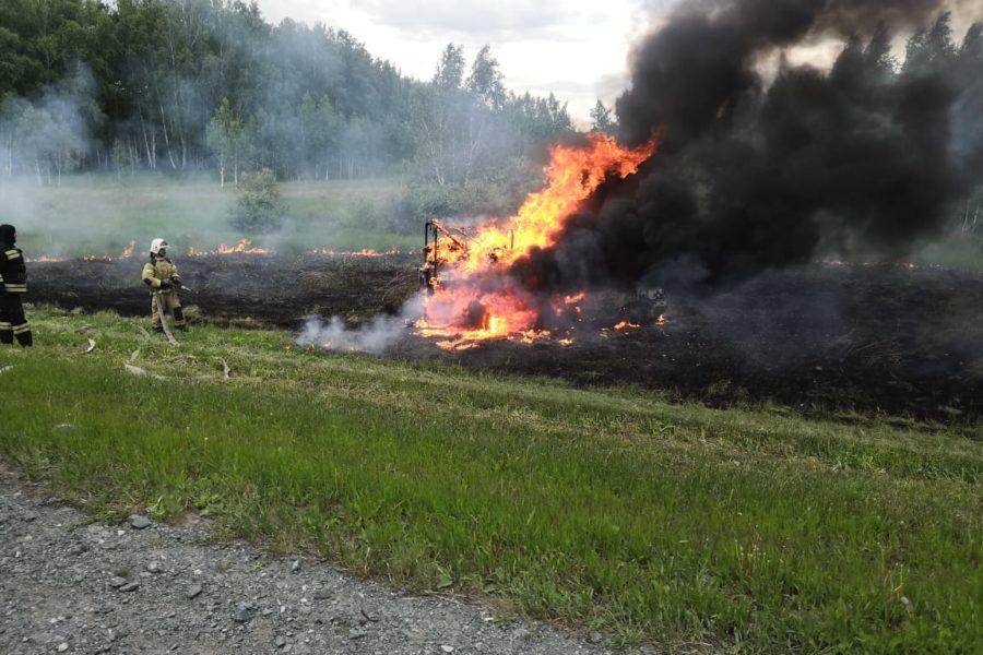 Хозяйствам, которые допускают пожары на своей территории, откажут в господдержке
